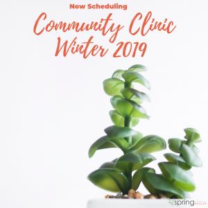 January 2019 Winter Community Clinic