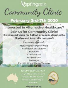 Community Clinic Spring Integrative Health SkyOro Women